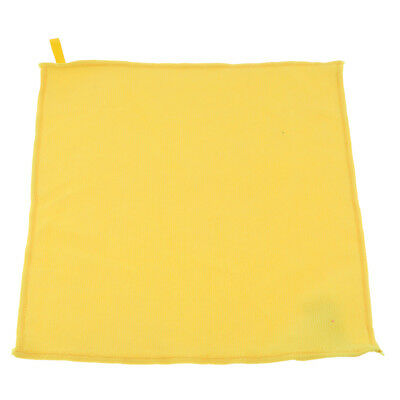 Microfibre Cloths Cleaning Car Detailing Duster Kitchen Dish Towel Yellow