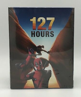 127 Hours - with Deadpool Photobomb Slipcover BRAND NEW SEALED (Blu-Ray 2018)