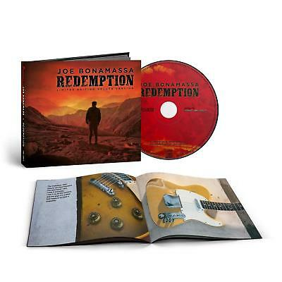Joe Bonamassa - Redemption - New Deluxe CD Album - Pre Order Released 21/09/2018