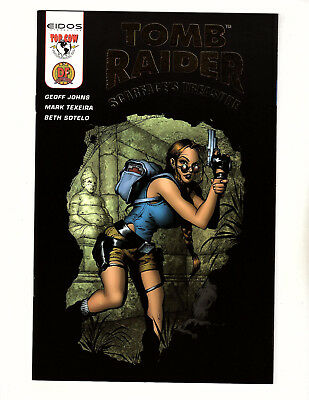 Tomb Raider: Scarface's Treasure #1B (2003, Top Cow) NM+ DF Variant Geoff Johns