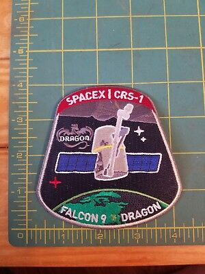 SpaceX Falcon 9 CRS-1 Dragon Mission Patch