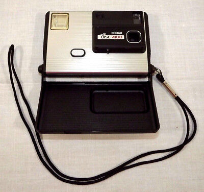 KODAK Disc Camera 4100 with Strap GUC VTG Collectible or for Prop UNTESTED