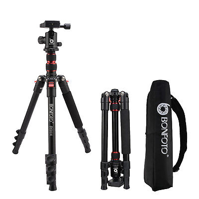 Pro Aluminum Travel Camera Treppiede Portable for DSLR Camera B690A Tripod
