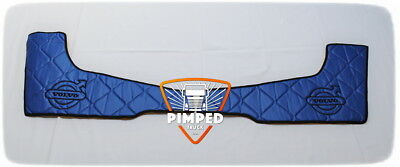 Door cards Volvo FH4 ECO LEATHER Blue, available smooth + embroidery