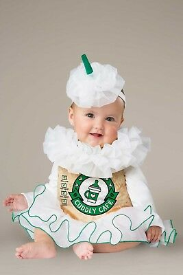 Mommy and Me Incharacter Halloween Costume Cappuccino Cutie Latte 12-18 Mos Nwt