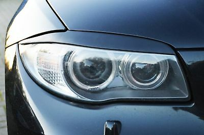 For BMW E87 E88 E81 E82 Eyebrows headlight Cover eye lids light cover Brow mask