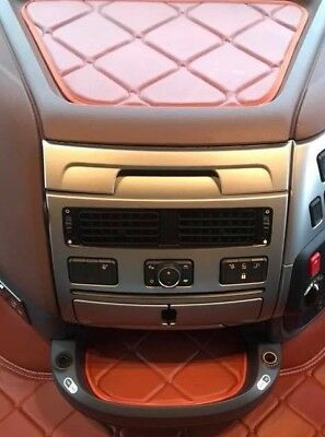 Daf 105xf / 106xf 2 small dash mats ECO LEATHER, available smooth any color