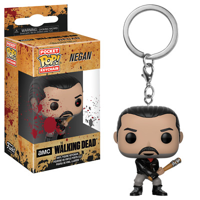 The Walking Dead Negan Portachiavi Pocket Pop!