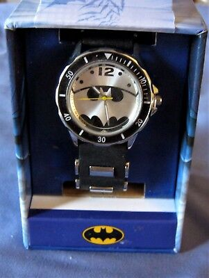 SALE Warner Bros Batman Bullet Band Watch # BAT9365 NEW