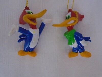 Woody Woodpecker Mini Christmas Ornaments, Set of 2