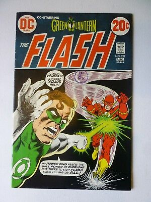 The Flash 222 1973 DC Comics Bronze Age Green Lantern