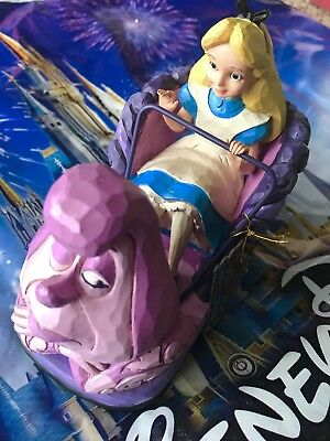 Disney Parks Alice in Wonderland Disneyland Attraction Figurine Jim Shore