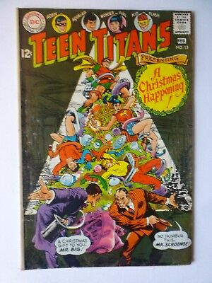 Teen Titans 13 Feb 1968 DC Comics Silver Age Christmas Issue