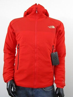NWT Mens TNF The North Face L3 Ventrix Hooded Insulated Climbing Jacket - Red