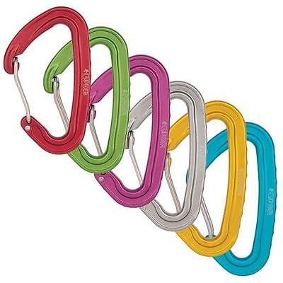 Cypher Ceres Ii Six Colored Wire Carabiner 6 Per Pack - Ce Certified En566