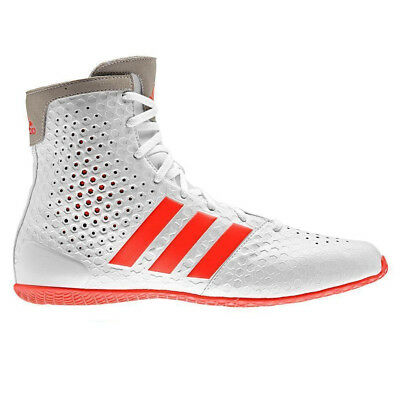 adidas KO Legend 16.1 Boxing Trainer Shoe Boot White/Red