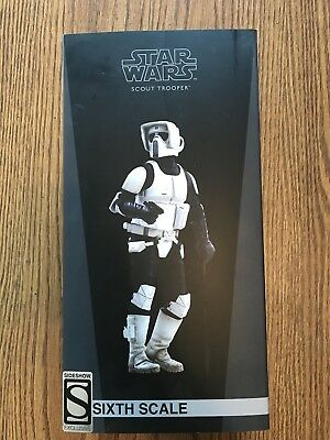 Star Wars Sideshow Collectibles Scout Trooper 1/6th Figure