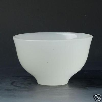 Chinese Beautiful Superb Hand-carved Natural White Jade Bowl