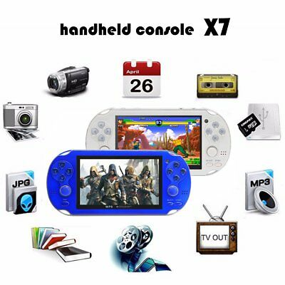 Retro Portable 4.3 Inch 300+ Games Built-in Handheld Video Game Console Player