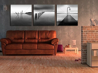 Large Canvas Print Modern Painting Home Decor Wall Art Picture-Seascape Artwork