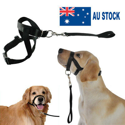 Dogalter Dog Halter Halti Training Head Collar Gentle Pet Leader Harness Nylon