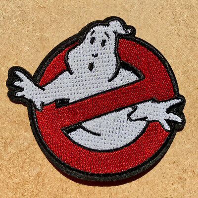 1pc Ghostbusters Embroidered Patch Cloth Iron On Applique craft ghost #1138