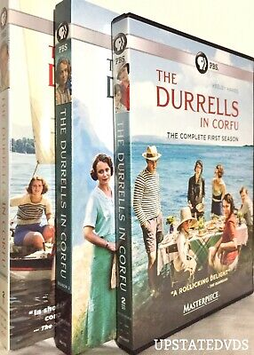 The Durrells in Corfu: TV Series Seasons 1 & 2 DVD, Ships Free/Tracking