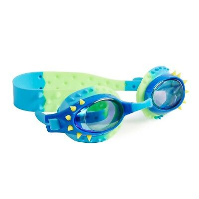 BOYS Swim goggles BLING2O - NELLY - LOCKNESS BLUE YELLOW SPIKES