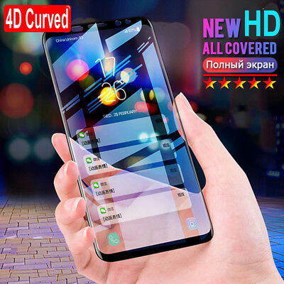 Full Cover Tempered Glass Screen Protector For Samsung Galaxy Note9/8 S9 S8 Plus