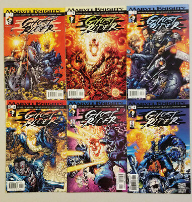 Ghost Rider Vol 3 #1-6 Complete Series (Grayson Kaniuga Marvel Knights 2001)