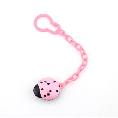 Dummy Clip Holder Pacifier Anti-off Clips Soother Chains Baby Teething Toy CuteX