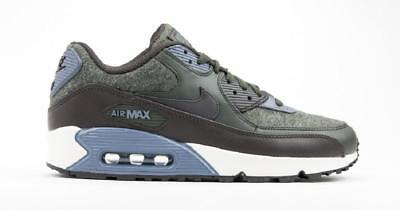 new styles 91875 410aa Hommes Nike Air Max 90 Premium Basket Course 700155 300