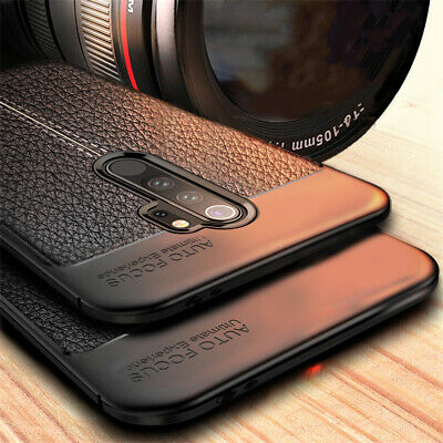 For Xiaomi Redmi 6A Note 7 6 Pro Shockproof Silicone Soft TPU Leather Case Cover