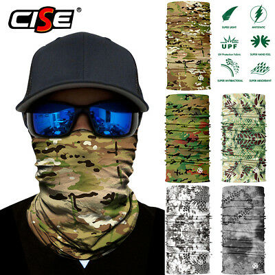 3D Camo Neck Gaiters Warmer Scarf Face Masks Ski Shield Sun Balaclava Motorcycle