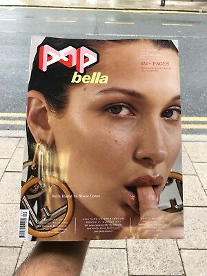 Pop Magazine Issue 39 Winter 2018 Bella Hadid By Stevie Dance Cover 650 Pages!!!