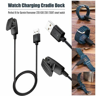 USB Charging Clip Charger Cable for Garmin Watch Forerunner 230 / 235 / 630 L0