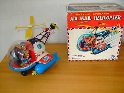 Air Mail Helicopter in OVP, made in Japan, near mint in box