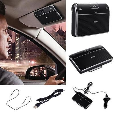 Bluetooth Wireless Car Sun Visor Speaker Handsfree Speakerphone Fr Auto Vehicle