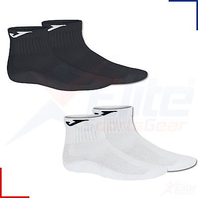 Joma Mens Womens Sports Ankle Trainer Socks Black or White