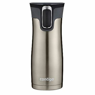 Contigo AUTOSEAL West Loop 2.0 Insulated Travel Mug 16oz Brushed Stainless