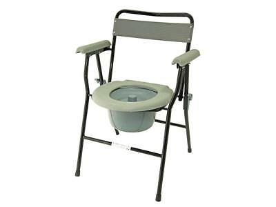 Z-Tec Mobility For Life ZT-699 Folding Commode Chair Disability Aid