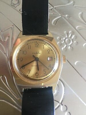 Unique Antimagnetic/Mecanichal Ruhla watch( Germany made)