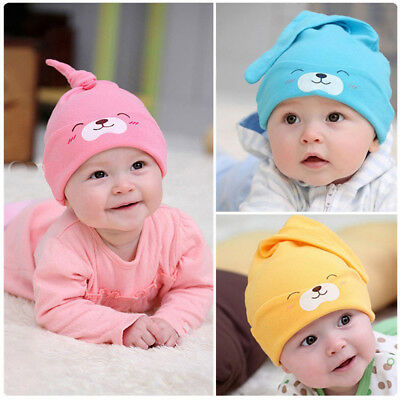Infant Girl Newborn Baby Soft Beanie Toddler New Hat clothing accessories 3x JD