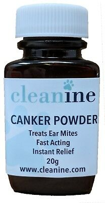 Cleanine Thornit Ear Powder 20g Canker Mites Ear Wax Powder