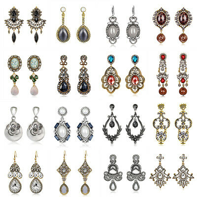 Bohemian Women Earring Ethnic Long Hook Drop Dangle Tassels Vintage Jewelry Boho