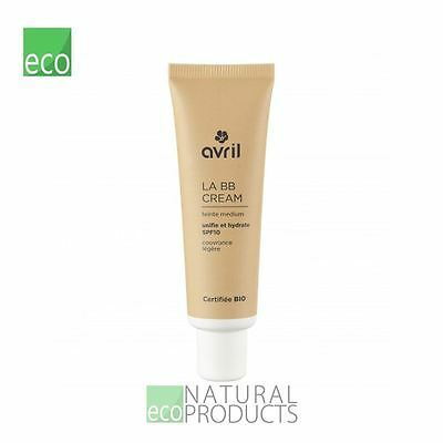Avril Liquid LA BB Cream Organic EcoCert Medium 30ml