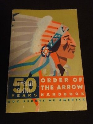 Books manuals boy scouts fraternal organizations historical boy scout order of the arrow manual 1966 revised 50th anniversary fandeluxe Images