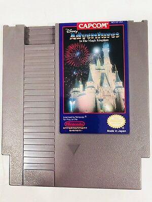 Disney Adventures in the Magic Kingdom NES Nintendo Entertainment System Tested