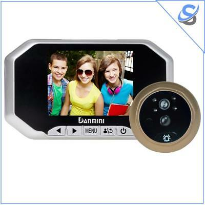 Danmini YB-30AHD-M Video Doorbell HD Display 3 inch 2.0MP Motion Detection USB
