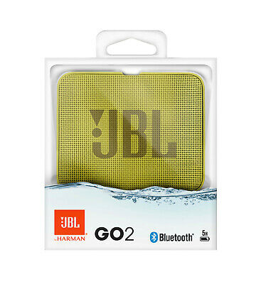 Cassa Portatile Ricaricabile Speaker Bluetooth Jbl Go2 Giallo Waterproof